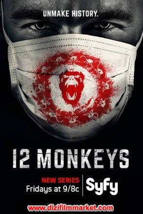 12 Monkeys (Tr Dublaj)