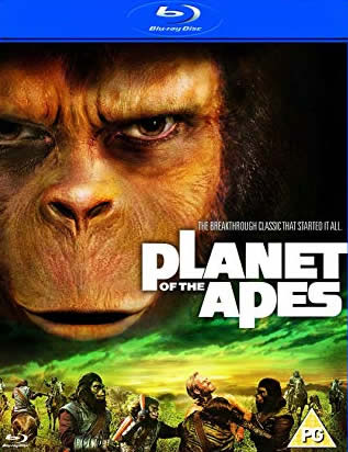 Planet of the Apes - Maymunlar Cehennemi Serisi (Bluray)