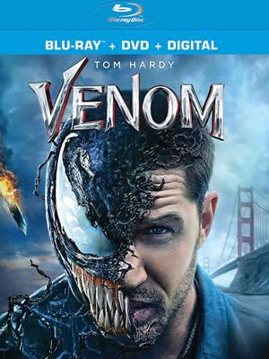 Venom - Zehirli Öfke (Bluray)