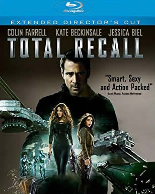 Total Recall - Gerçeğe Çağrı (Bluray)