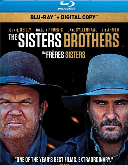 The Sisters Brothers - Sisters Biraderler (Bluray)