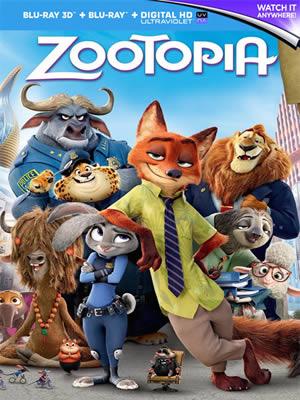 Zootopia - Zootropolis Hayvanlar Şehri (Bluray)