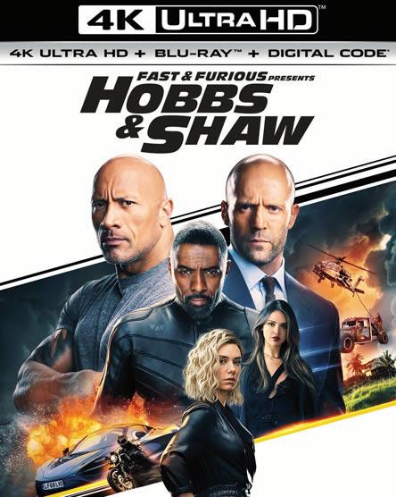 Fast & Furious Presents Hobbs & Shaw - Hızlı ve Öfkeli Hobbs ve Shaw (4K)