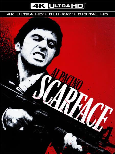 Scarface - Yaralı Yüz (4K)
