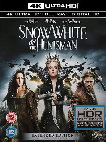 Snow White and the Huntsman - Pamuk Prenses ve Avcı (4K)