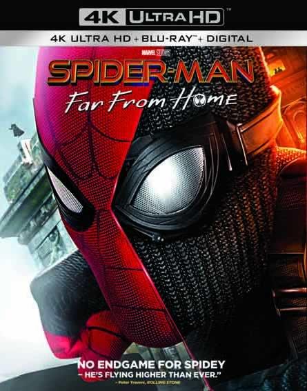 Spider-Man Far from Home - Örümcek Adam Evden Uzakta (4K)
