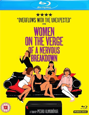 Women on the Verge of a Nervous Breakdown - Sinir Krizinin Eşiğindeki Kadınlar (Bluray)