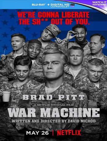 War Machine - Savaş Makinesi (Bluray)