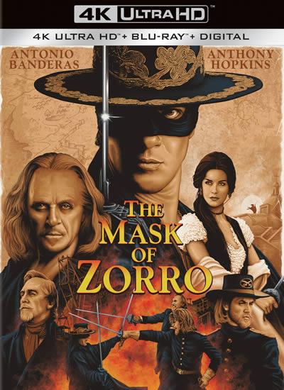 The Mask of Zorro - Maskeli Kahraman Zorro (4K)