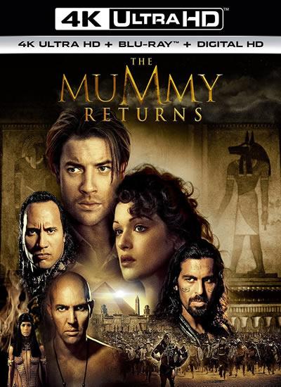 The Mummy Returns - Mumya Geri Dönüyor (4K)